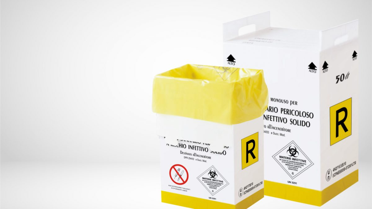 контейнера за медицински отпадъци